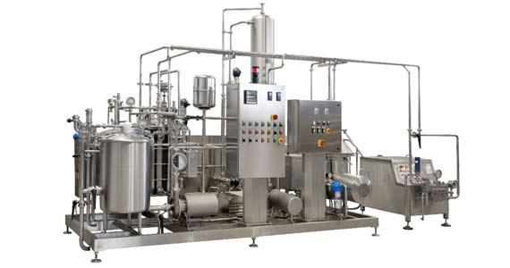 Линия производства пастеризованного молока