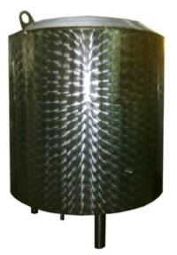 Емкость с теплоизолирующей рубашкой тип 10.02