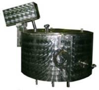 Емкость с электронагревом и змеевиком охлаждения тип 10.01.ЭЗ