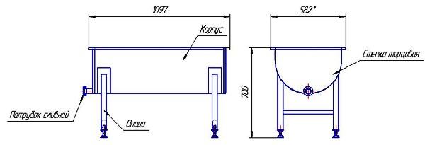 Первая фотография или схема Лоток для сбора сыворотки В20.04