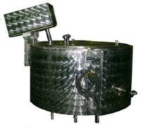 Емкости паровые с электронагревом и змеевиком охлаждения тип 10.01.ЭПЗ