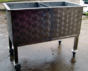 Ванна секционная передвижная тип Вn-21.04