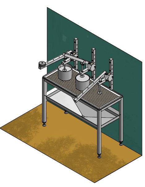 Первая фотография или схема Рабочее место прессов для сыра