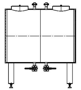 Емкость двухсекционная тип В2-11.04