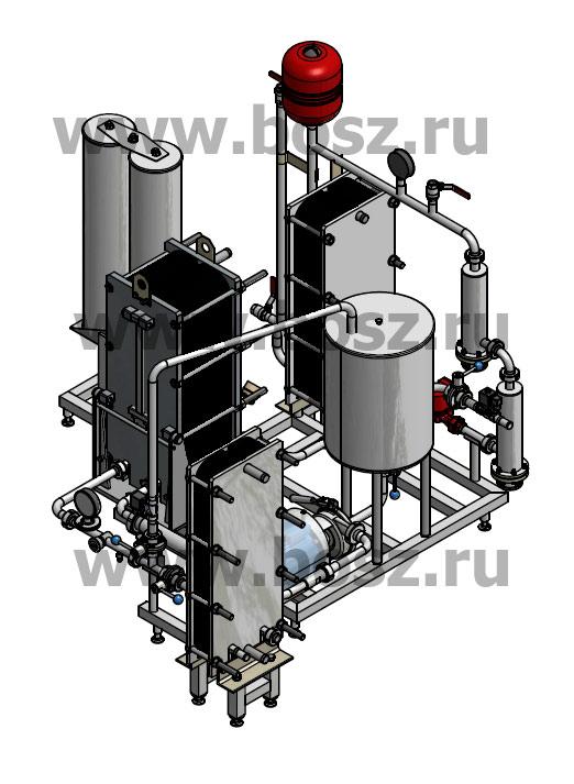 Пастеризатор пива ПМР-Э-5.0