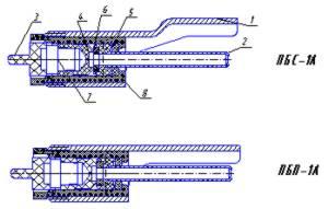 Вторая фотография или схема ПБС-1А и ПБП-1А
