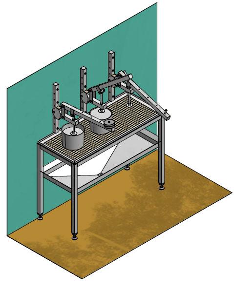 Вторая фотография или схема Рабочее место прессов для сыра