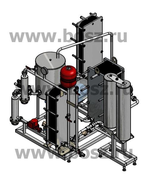 Вторая фотография или схема Пастеризатор ПМР.Э c электрокотлом